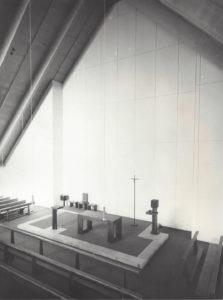 Bilder Altbau + Kirche 1971