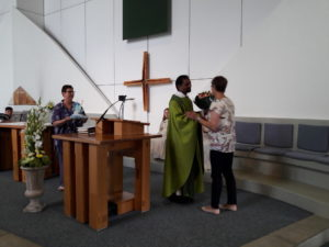 Abschlussgottesdienst Blockunti mit Verabschiedung Isabel Singer Juli 17