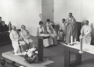 Einweihungsgottesdienst 21. März 1971